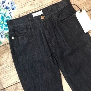 NWT Current Elliot Jarvis Rinse Wide-leg Jeans